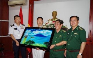 Đoàn cán bộ, sĩ quan Bộ Quốc phòng Nhật Bản thăm và giao lưu với BĐBP Tây Ninh