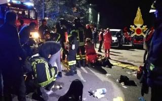 Giẫm đạp kinh hoàng tại hộp đêm ở Ý, hơn 120 người thương vong