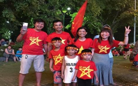 Người dân Tây Ninh sôi động cùng AFF Cup 2018