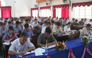 Tân Biên: Hướng dẫn kiểm điểm, đánh giá, xếp loại đối với tổ chức cơ sở Đảng và đảng viên
