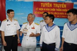 Lữ đoàn Tàu Săn ngầm: Kỷ niệm 40 năm chiến dịch Tà Lơn trên biển