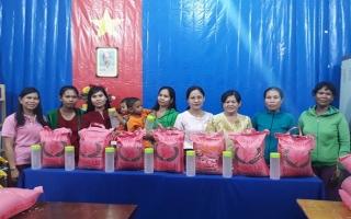 Nhiều hoạt động hỗ trợ phụ nữ dân tộc Tà Mun