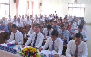 HĐND huyện Tân Biên khai mạc kỳ họp  lần 7, khóa XI
