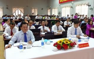 Gò Dầu: Khai mạc kỳ họp HĐND huyện lần thứ 8