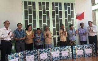Trao tặng 7 căn nhà tình nghĩa tại Châu Thành
