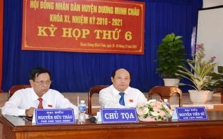 Huyện Dương Minh Châu: Khai mạc kỳ họp thứ 6 HĐND khóa XI