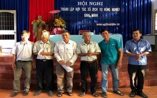 Thành lập HTX dịch vụ nông nghiệp Bình Minh
