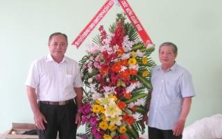 Lãnh đạo huyện Tân Biên thăm, chúc mừng giáng sinh tại các Giáo xứ