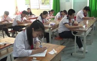 Khai mạc kỳ thi chọn học sinh giỏi cấp THCS huyện Dương Minh Châu