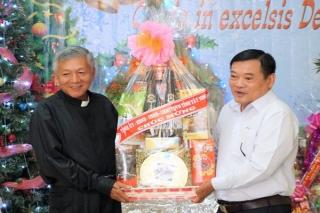Lãnh đạo tỉnh: Thăm, chúc mừng Ủy ban Đoàn kết Công giáo tỉnh Tây Ninh
