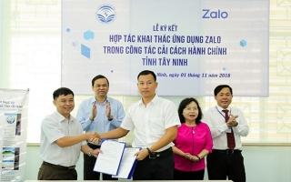 Văn phòng UBND tỉnh và UBND huyện Gò Dầu đứng đầu bảng xếp hạng chỉ số CCHC năm 2018