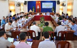 Dương Minh Châu cần chú trọng phát triển hạ tầng giao thông và hạ tầng thuỷ lợi
