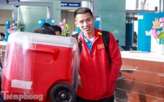 Hình ảnh tuyển Việt Nam lên đường chinh phục Asian Cup 2019