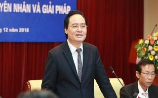 Bộ trưởng Phùng Xuân Nhạ giữ chức Chủ tịch HĐCD giáo sư Nhà nước nhiệm kỳ mới