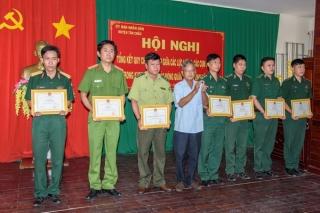 Tân Châu: Tổng kết quy chế phối hợp giữa các lực lượng, cụm chiến đấu trong khu vực phòng thủ