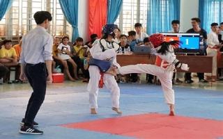 Bến Cầu:Tổ chức giảiTaekwondo mở rộng- tranh Cup Nguyễn Huynh lần thứ I.2018