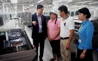 Tổng LĐLĐ Việt Nam khảo sát quyền bình đẳng giới tại các doanh nghiệp ở Tây Ninh