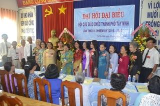 Đại hội đại biểu Hội CGC Thành phố Tây Ninh lần III, nhiệm kỳ 2018 – 2023