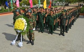 Bộ CHQS Tây Ninh tham dự kỷ niệm 40 năm chiến thắng chế độ diệt chủng tại Campuchia
