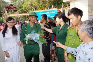 Bộ CHQS tỉnh: Hiệp đồng giao, nhận quân năm 2019