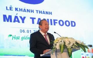 Tây Ninh: Khánh thành Nhà máy chế biến trái cây Tanifood