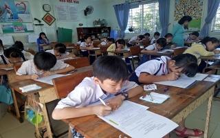 """Thành phố Tây Ninh tổ chức hội thi """"Vở sạch, chữ đẹp"""" năm học 2018-2019"""