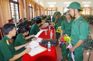Sư đoàn 5: Tập huấn công tác tuyển quân năm 2019