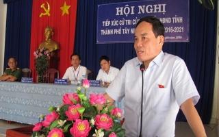 Đại biểu HĐND tiếp xúc cử tri sau kỳ họp cuối năm HĐND các cấp