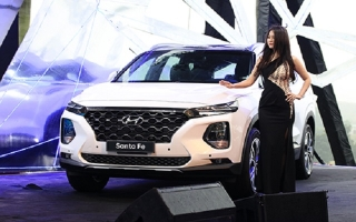 Hyundai Santa Fe 2019 giá cao nhất 1,245 tỷ tại Việt Nam