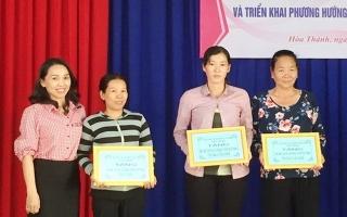 Phụ nữ Hoà Thành vận động trên 680 triệu đồng cho công tác xã hội