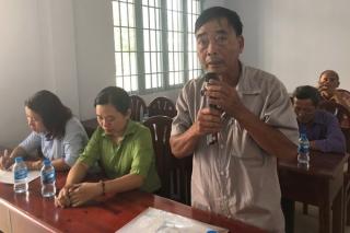 Đại biểu HĐND tỉnh, huyện tiếp xúc cử tri xã Thái Bình và Sư đoàn 5