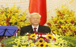 Tổng Bí thư, Chủ tịch nước: Một không khí phấn khởi, tin tưởng đang lan tỏa