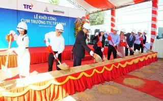 Khởi công xây dựng hệ thống Trường Liên cấp TTC Tây Ninh
