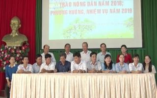 Phát động nhiều phong trào thi đua giúp hội viên nông dân nghèo