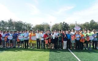 Khởi tranh giải bóng đá mừng Đảng- mừng Xuân, tranh cúp Bình Điền- Tây Ninh lần thứ II.2019