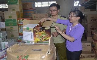 Ra quân kiểm tra an toàn thực phẩm Tết Nguyên đán Kỷ Hợi 2019