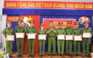 Trại Tạm giam Công an tỉnh triển khai công tác năm 2019