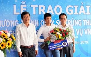 VNPT Tây Ninh trao thưởng cho khách hàng sử dụng các dịch vụ Vinaphone