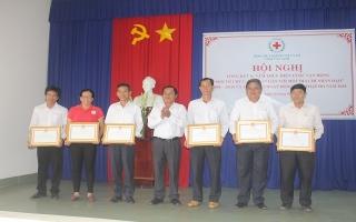 Tổng kết hoạt động Chữ thập đỏ năm 2018
