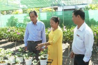 Khai trương điểm dừng chân HTX dịch vụ nông nghiệp 124 Huỳnh Anh