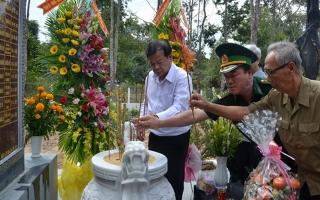 Khánh thành Nhà bia tưởng niệm liệt sĩ Đồn Biên phòng Lò Gò