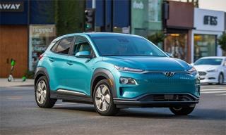 Hyundai Kona động cơ điện giá từ 36.500 USD tại Mỹ
