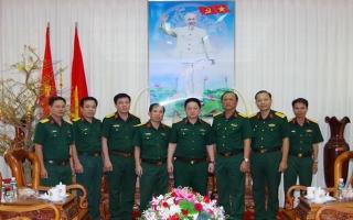 Tổng cục Hậu cần QĐND Việt Nam chúc Tết Bộ CHQS Tây Ninh