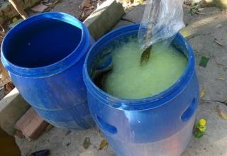 Phát hiện hai cơ sơ sản xuất nước rửa chén dởm