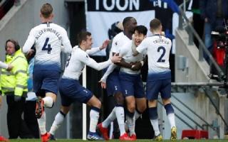 Son Heung-min đưa Tottenham lên nhì bảng