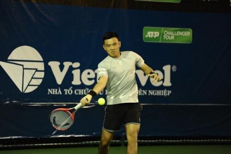 Giải quần vợt Chennai Open: Ngày đầu Xuân vui vẻ cho Lý Hoàng Nam