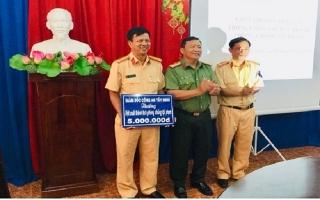 CATN: Trao thưởng cho đơn vị xuất sắc trong đấu tranh phòng chống tội phạm