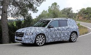 Mercedes GLB - SUV mới nằm dưới phân khúc GLC