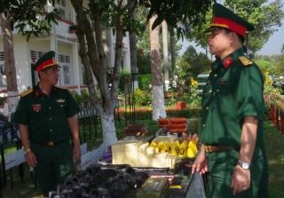Quân khu 7: Kiểm tra công tác chuẩn bị huấn luyện chiến sỹ mới tại Sư đoàn 5