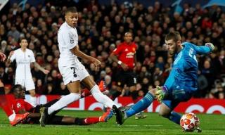 Man Utd thua PSG ở lượt đi Champions League